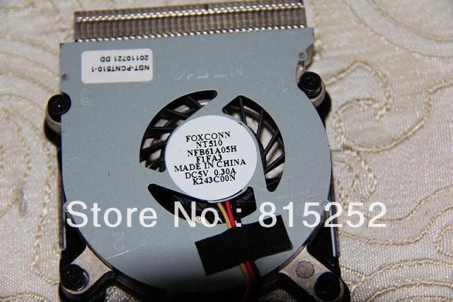 Кулер Колодки ВЕНТИЛЯТОР и Радиатор Для NBT-PCNT510-1 FOXCONN NT510 NFB61A05H F1FA3 DC5V 0.30A