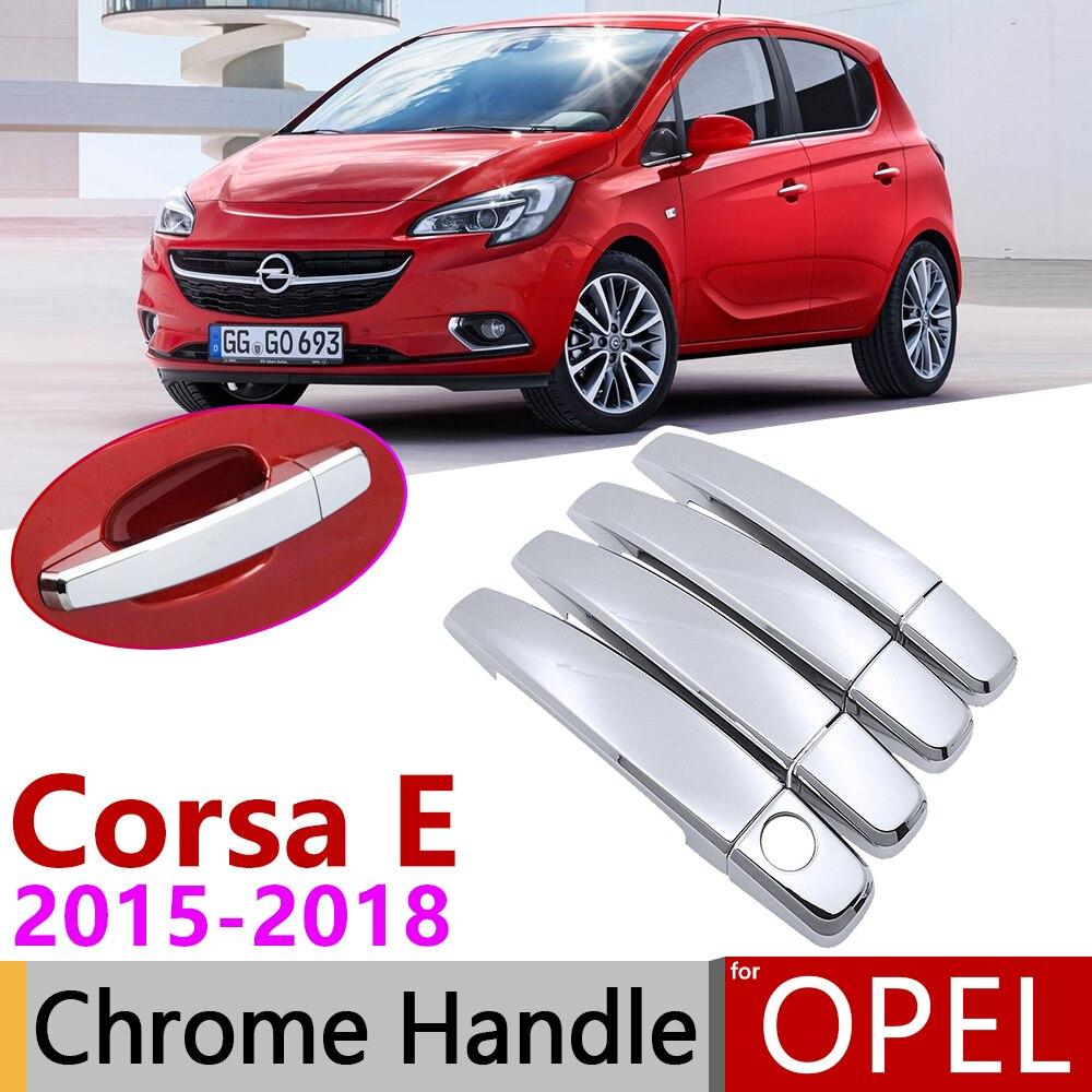 STAINLESS STEEL  Door Handle Cover Trim Set Exterior 4Doors Opel Antara 2007+