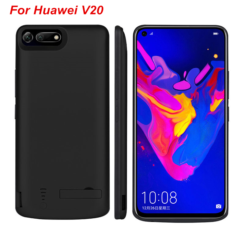 For Huawei honor V20 Battery Case 6500 Mah External Backup Charger Cover  Pack Power Bank For Huawei Honor V20 Battery Case