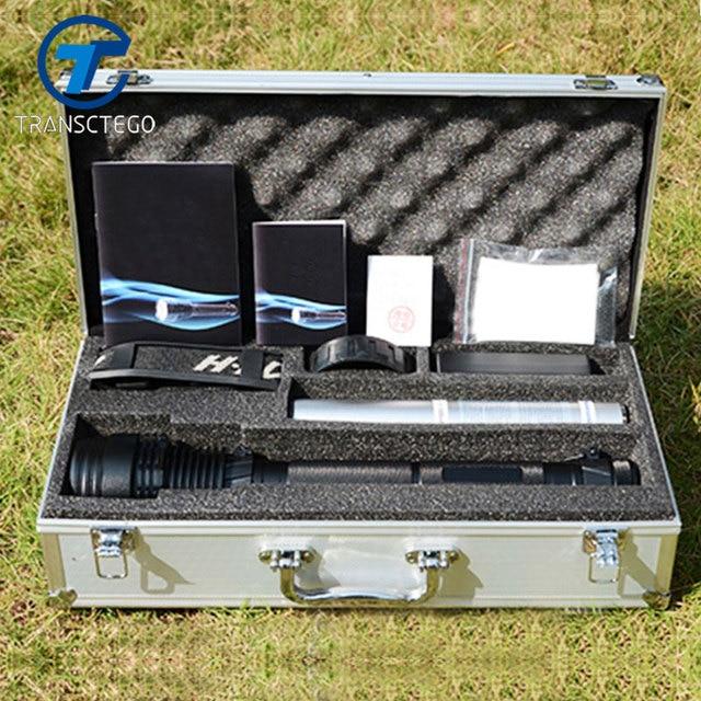 Xenon Torch 85W Flashlight Strong Light Lantern Searchlight 8000 Lumen Rechargeable Spotlight For Hunting Xenon Flashlights
