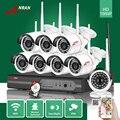 Anran 24ir impermeável ao ar livre p2p 8ch 1080 p hdmi nvr wi-fi 2MP Câmera IP Sem Fio Sistema De Segurança De Vídeo Vigilância CCTV 3 TB HDD
