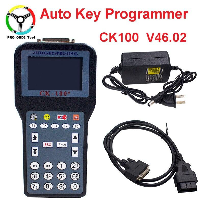 Newly CK100 V46.02 Auto Key Programmer With 1024 Tokens CK-100 CK 100 V 46.02 key Programmer Better Than SBB No Tokens Key maker xtool x100 pro auto key programmer