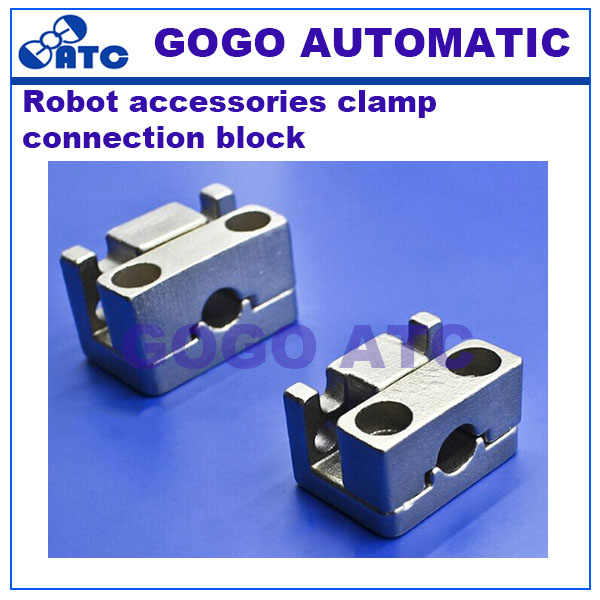 Robot accessories Alumina 1615D/S-L Single and double motion clamp 2015D/S-L Water clip fixture Connector block