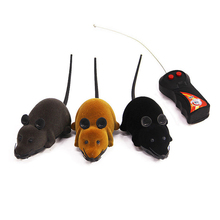 Baby Toys RC Funny Wireless Electronic Remote Control Mouse Car Rat Pet Toy for Cats For Girl Boy
