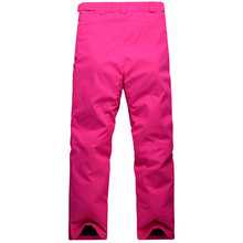 Free shipping ski pants women snowboard pants ski trousers waterproof windproof thermal fabric Crotch breathable design ski pant