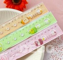 1PC Kawaii beans 18cm vintage rulers for kids school education,  office supplies& zakka(ss-a873)