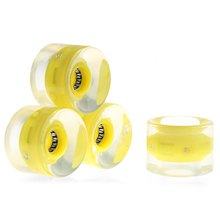 Bearings longboard smooth wheels riding durable skateboard x wheel colors light