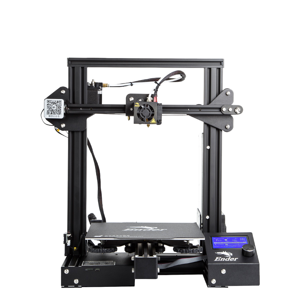 Image 3 - Newest Ender 3 Pro 3D Printer DIY KIT Creality 3D Upgraded Cmagnet Build Plate Resume Power Failure Printing magnetic plate-in 3D Printers from Computer & Office