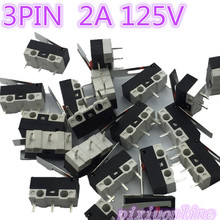 G70Y High Quality 20pcs/lot 3PIN 2A 125V G70 Mini Light Touch Switch for Mouse Switch  Sell at a loss