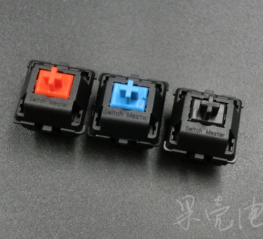 5 pcs/pack original Huano Switch master mechanical keyboard switch blue / red / Black mechanical shaft