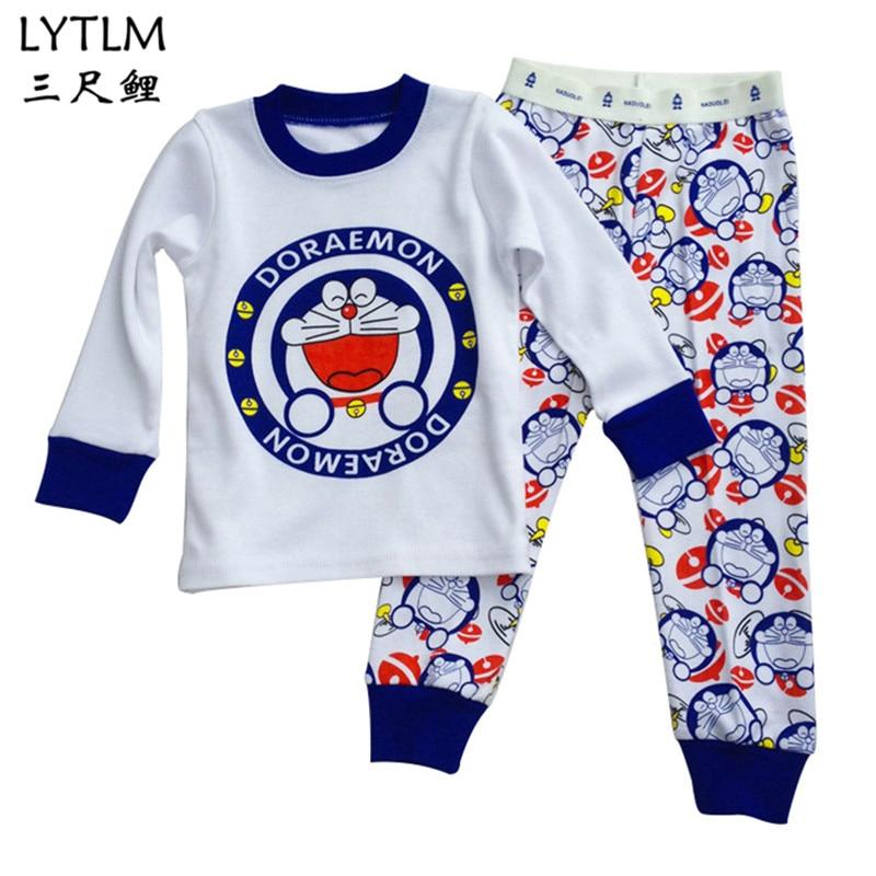 0ba75f04a LYTLM Robocar Poli Clothes Girls Kids Pajamas Set Baby Boys Pajamas ...