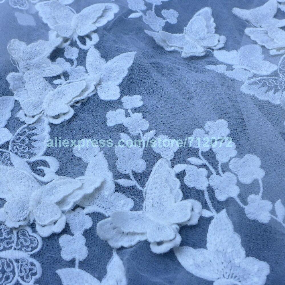 La Belleza nouveau coton Orange/bleu/vert/blanc/bleu ciel de très haute qualité sur un tissu brodé par La cour