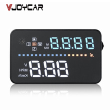 VJOYCAR A3 Car Hud Head Up Display GPS Speedometer Winshield Projector Speedometer With OBD Cable