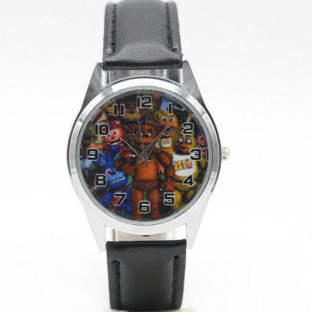 Free Shipping new fashion Five Nights at Freddy's Watches Children Kids Boys gif