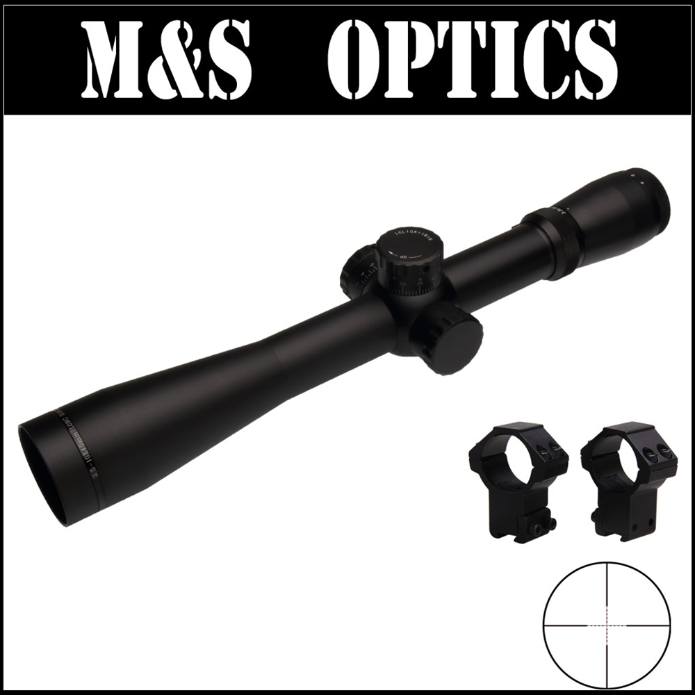M3 3.5-10X40 SF Airsoft Air Rifles Optical Sight Mil-dot Resetting With Riflescope Mount For Hunting Equipment Made In China прицел hawke panorama ev 3 9x50 10x half mil dot ir hk5161