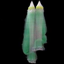 quality H2m*L80m 3layer 2cm-7cm mesh fish trap fishing network pesca sink nylon net gill tool super
