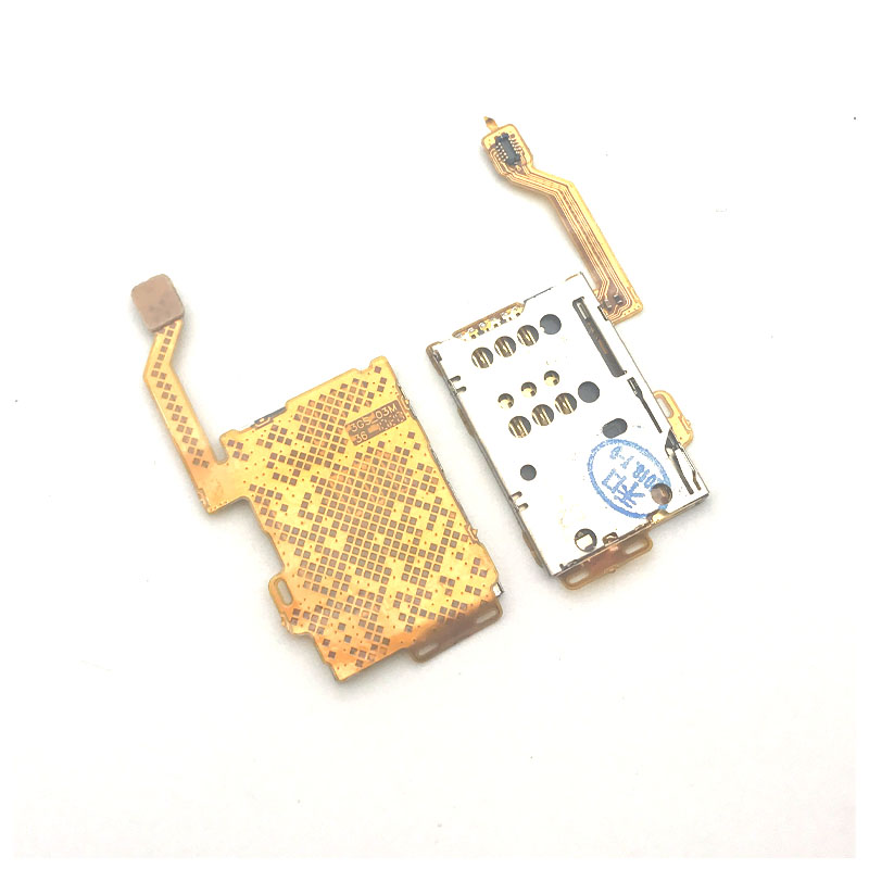 Sim Card Slot Tray Reader Holder Socket With Flex Cable Replacement Parts For Nokia C7-00 C7 701