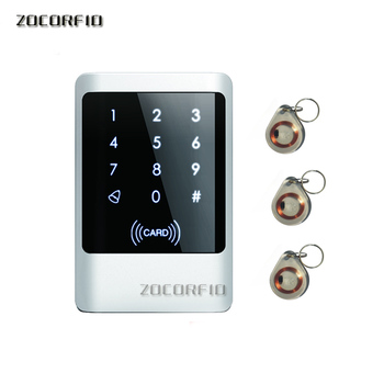 Rfid Door Access Control System IP68 Waterproof Metal Keypad Proximity Card Standalone Access Control metal waterproof ip65 125khz rfid access control machine keypad 1000 users13 56mhz ic card door access control system rt380