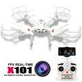 Drones RC Helicóptero MJX X101 Profissional zangão quadcopter gopro pode Adicionar c4008 720 P HD Wifi câmera FPV