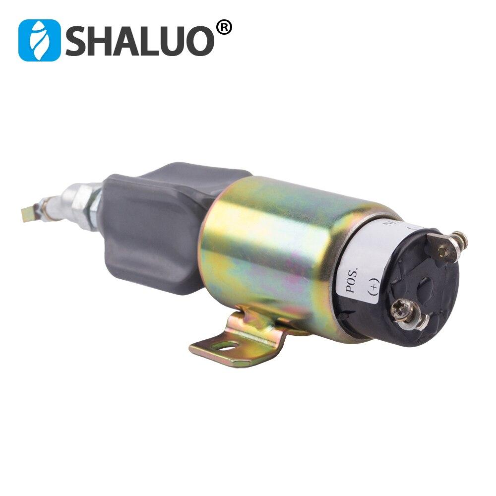 24 V groupe électrogène Diesel arrêt solénoïde par défaut 24 V 12 v/24 v en option - 5