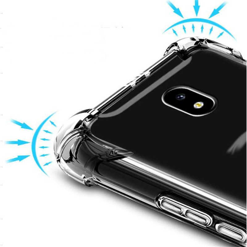 Airbag Schokbestendige Case Voor Samsung Galaxy S9 S8 Plus S6 S7 Rand Note 8 9 A3 A5 A7 J7 Neo j3 J5 Pro J2 Prime 2016 2017 Soft Cover