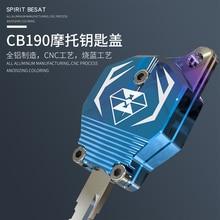 763239534 Acessórios da motocicleta chave chave decoração tampa produtos criativos  CB190 dedicado Car styling diy do motor