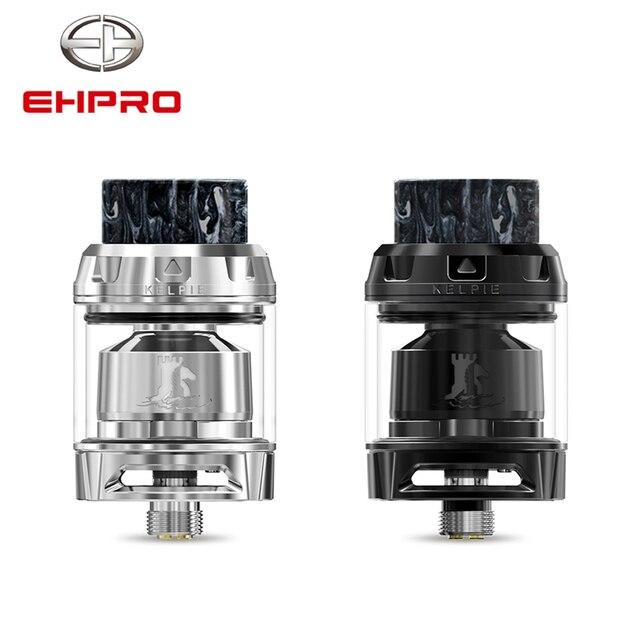 EHPRO Kelpie MTL RTA Tank for Vape Adjustable 2ml 3 5ml 510 Thread DIY  Single Coil Electronic Cigarette Atomizer Evaporator