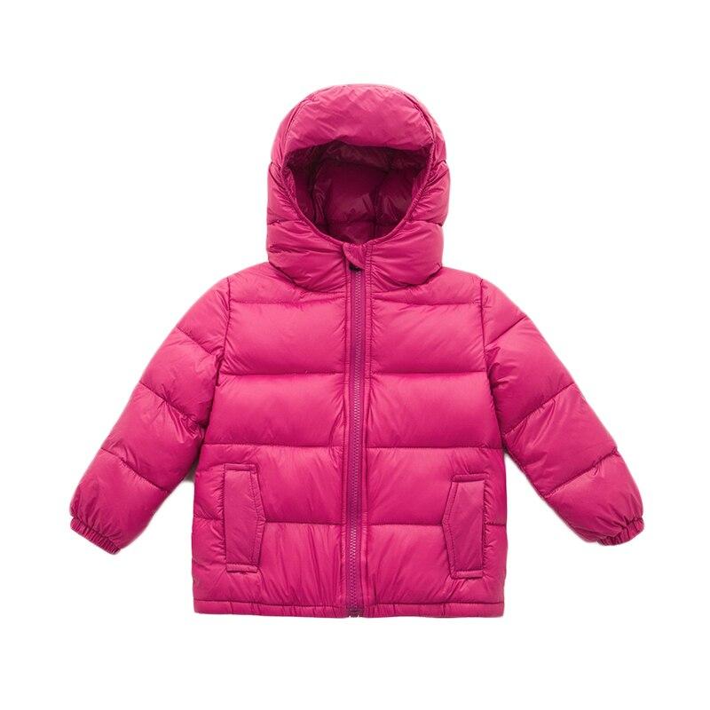 2017 New 100-140cm Children's Clothing Outerwear & Coats Jacket for Girls Winter Down Coat Children Snowsuit White Duck Down 2017 new 100