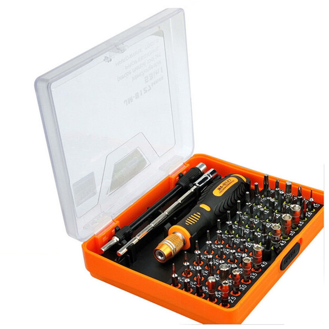 Jakemy JM-8127 Magnetic 54in1 Screwdriver Set Electronic Disassemble Repair Tool  jakemy jm 6092b 58 in 1 screwdriver set