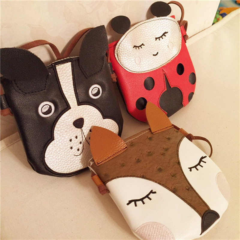 Children Bags Handbags Girls Cartoon dog Shoulder Bag Small Mini Cute Kids Back pack New Designer Lady Crossbody Bag Bolsa