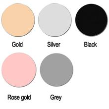 220*220mm Aluminum alloy metal Round mouse pad mouse pad office computer table mats Gold, Silver, Black, Rose gold, Grey
