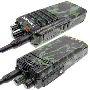 Image 4 - A lunga distanza Radio bidirezionale LEIXEN NOTA Ad Alta potenza 20W camouflage UHF 400 480MHz 4000mAh Prosciutto radio