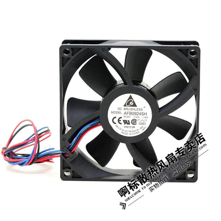 brand new DELTA AFB0924SH 9025 9CM 24V 0.50A server cooling fan