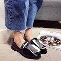 2017 Новых Низким Верха Обуви Мода Desinger Обувь Черная Женщина Обувь 2017 Летние Женская Обувь Квартиры