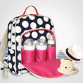 Brand New Large Capacity Multifunctional Mummy Nappy Backpack Maternity Baby Diaper care product Bags For Travel