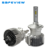 Safeview LED D2S D2R Car Headlights Bulbs 36W 4000LM Auto Bulb Plug Play Headlamp 6000K Light