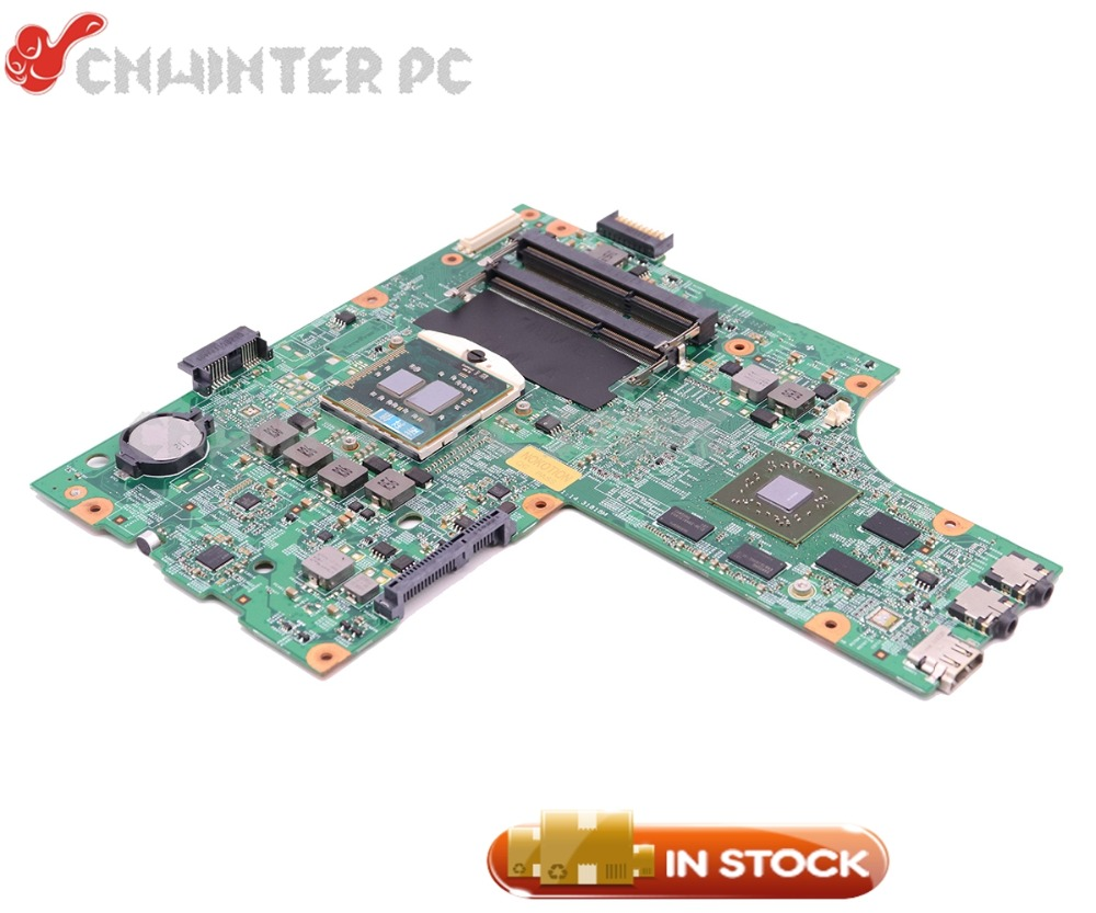 NOKOTION CN-052F31 052F31 52F31 48.4HH01.011 For Dell inspiron 15R N5010 Laptop Motherboard HM57 DDR3 HD5650 1GB Free CPU nokotion for dell inspiron m301z n301z laptop motherboard cn 0f1x70 0f1x70 hm57 i3 330um cpu ddr3 hd5430 video card