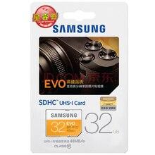SAMSUNG SD Card 16G 32G 64G 48M/s C10 UHS-I EVO Memory Card Class 10 SDHC SDXC Flash Card for Digital Cameras
