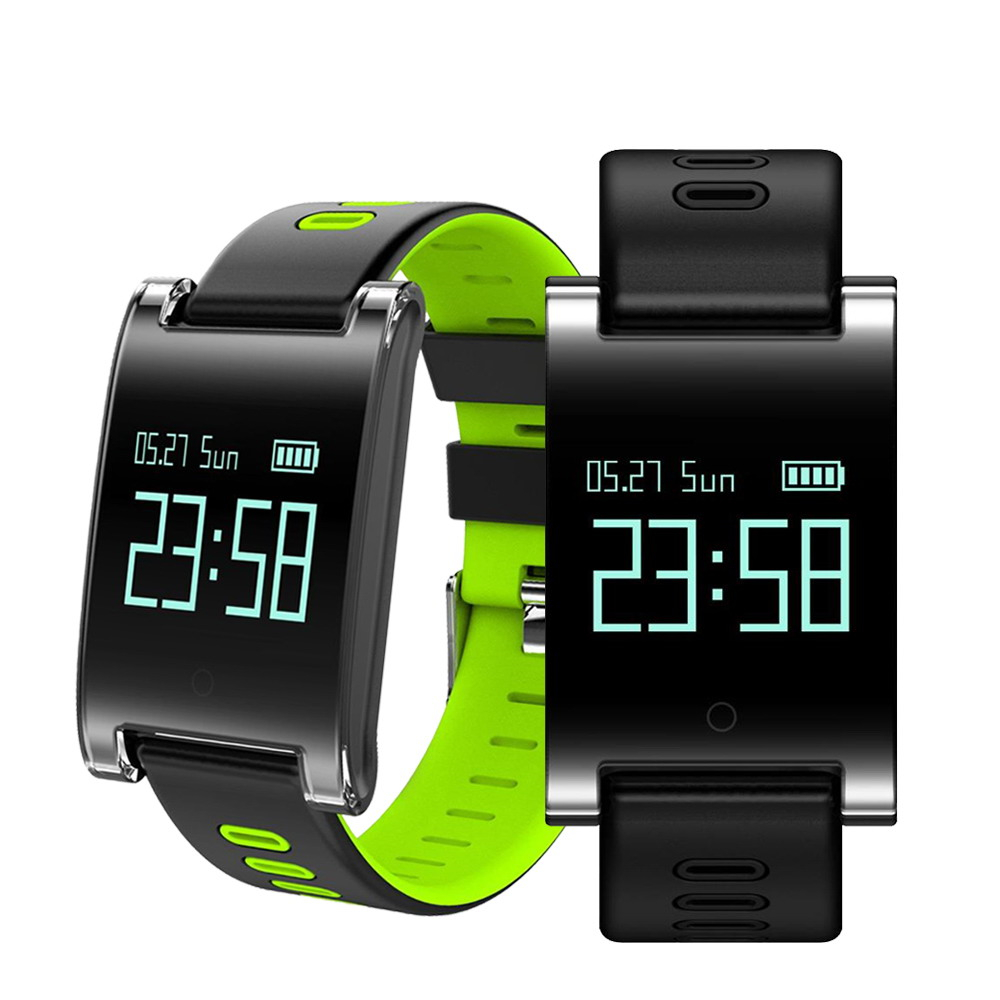 DM68 PLUS Smart Men Watch Blood Pressure Heart Rate Monitor Bluetooth Fitness Bracelet Call Reminder Activity Tracker OGEDA wireless service call bell system popular in restaurant ce passed 433 92mhz full equipment watch pager 1 watch 7 call button