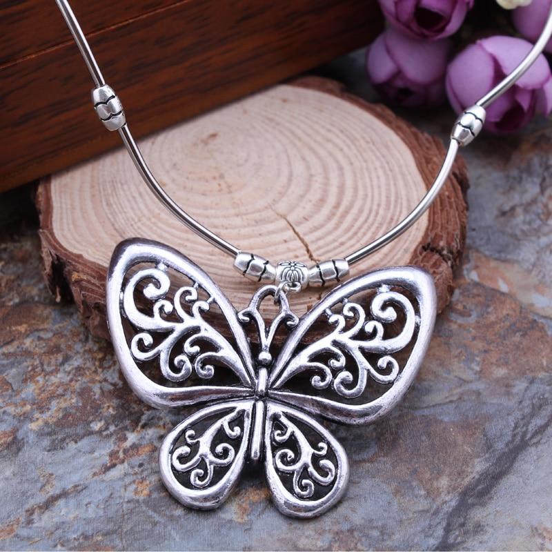 Tibetan Silver Random Mixed Butterfly Charms Pendants 20 Designs Jewellery ML