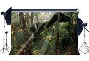 Image 1 - Динозавр фон Юрского периода джунгли деревья страшные динозавры декорации к мультфильму сказочная фотография фон