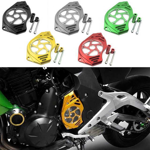 Per KAWASAKI Z1000 Z 1000 2010 2017 Moto pignone coperchio protezione catena lato sinistro protezione motore accessori Moto