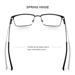 Image 3 - MERRYS DESIGN Men Titanium Alloy Glasses Frame Ultralight Eye Myopia Prescription Eyeglasses Male Optical Frame S2045