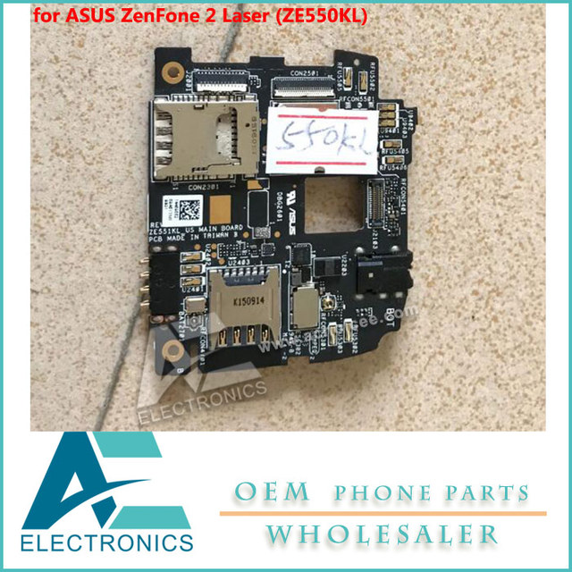 US $65 0 |motherboard for ASUS ZenFone 2 Laser (ZE550KL) 2G/16G Mainboard  Logic Board Circuit-in Mobile Phone Circuits from Cellphones &