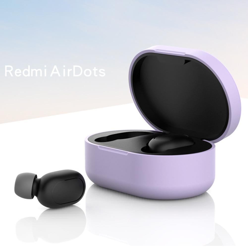 Image 5 - Anti Shock Comprehensive Protective Case Full Cover For Xiaomi Redmi Airdots TWS Bluetooth Earphone Youth Headset Accessories-in Earphone Accessories from Consumer Electronics