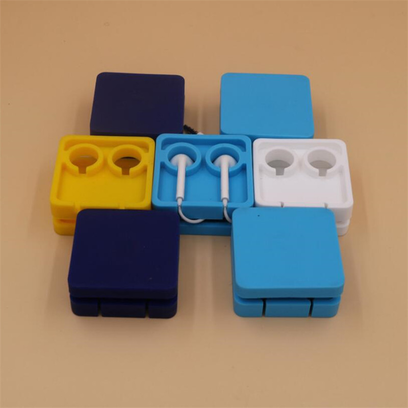 Headphone Line Cord Holder Cable Winder Silicone Headset Earbud Wire Organizer Cable Cord Wrap Management