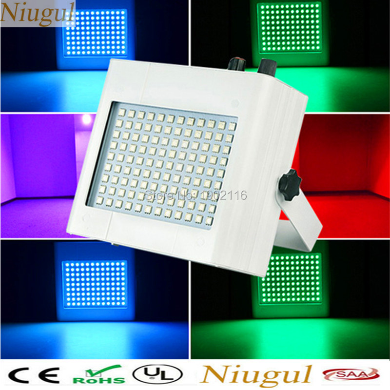 Free shipping High brightness 108pcs LED Strobe Party Light LED Flash Light Speed Adjustable led effect stage lights strobe lamp