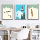 Winter Sports Skiing...