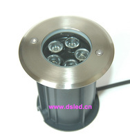 Stainless Steel IP68 Good Quality High Power Outdoor 5W LED Spotlight DS 11S 18 5W 5X1W