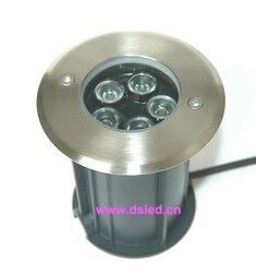 Ze stali nierdzewnej  IP68  dobrej jakości  na zewnątrz 5 W LED reflektor  LED na zewnątrz światła  DS-11S-18-5W  5X1 W  D120mm  110-250VAC